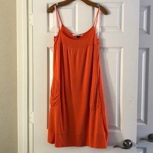 Diane Von Furstenberg Orange Angea dress